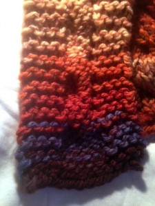 second scarf