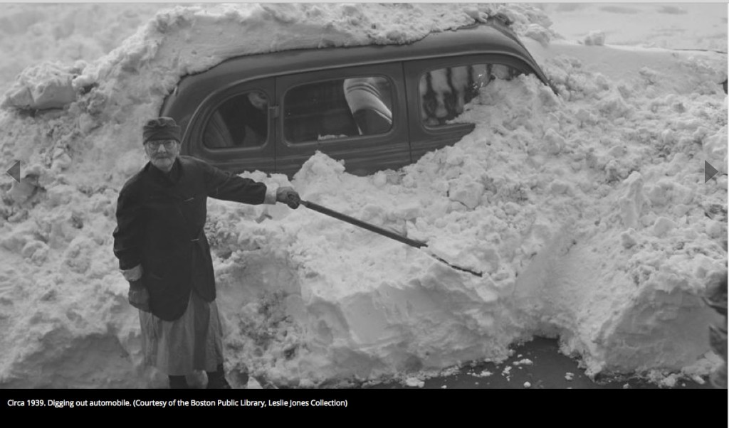 1939 woman in snow