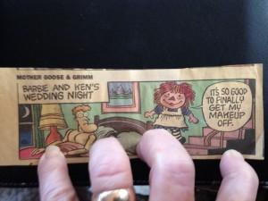Raggedy ann comic